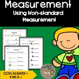 Measuring with Non-Standard Units: CCSS K.MD.A.1 and 1.MD.A.2