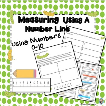 Measuring With A Number Line 0-10
