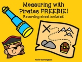 Measuring with Pirates FREEBIE!