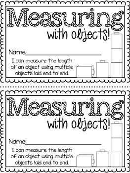 Measuring with Units { Mini Math Book }