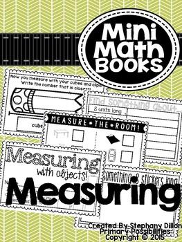 Measuring with Units { Mini Math Book }