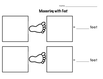 Measuring with footsteps