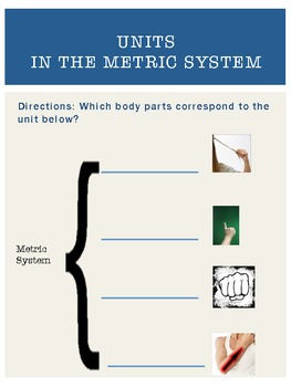 Measuring with the Metric System - Common Core Aligned