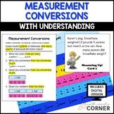 Measurement Conversions Activities: Print and Digital