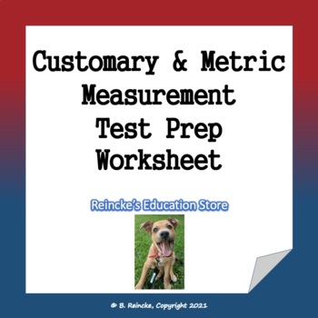 Measurment Test Prep Worksheet