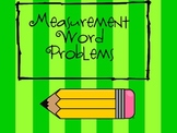 Measurment Word Problems using Addition and Subtraction