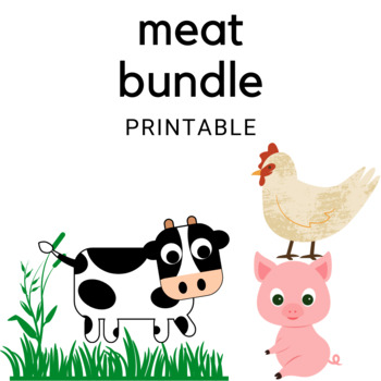 Meat BUNDLE (Family and Consumer Science, FACS, FCS)