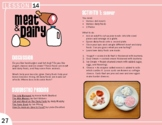 Meat & Dairy Lesson Plan