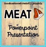 Meat Identification Powerpoint for Culinary Arts Class FCS