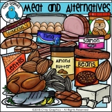 Meat and Alternatives Food Group Clip Art - Chirp Graphics