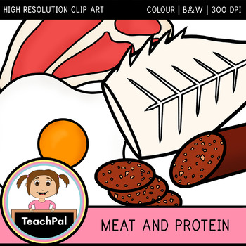 Meat and Protein Clip Art - Food Groups