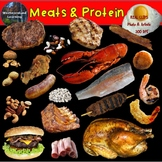 Food Groups Meat and Protein Clip Art Photo & Artistic Dig