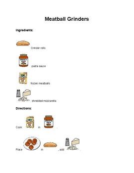 Meatball Grinders-Visual Recipe