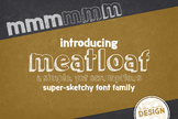 Meatloaf Font Family for Commercial Use