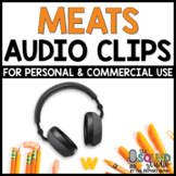 Meats Audio Clips | Sound Files for Digital Resources