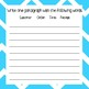 Mechanic Sight Words and Writing Prompts