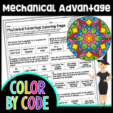 Mechanical Advantage Science Color By Number or Quiz