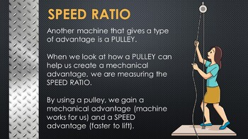 Mechanical Advantage and Speed Ratio
