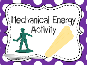 Mechanical Energy Activities and Investigation {Hands On L