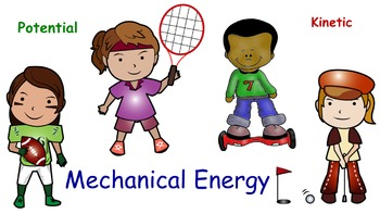 Mechanical Energy Potential vs Kinetic Interactive Notebook