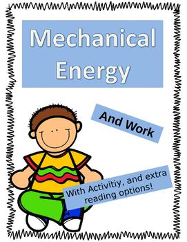 Mechanical Energy and Work