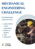 Mechanical Engineering STEM Challenge (distance learning m