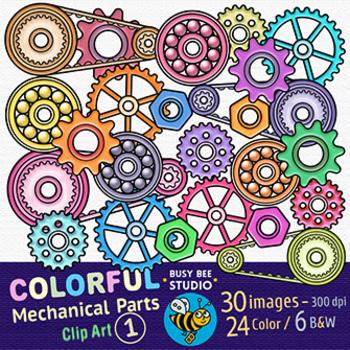 Mechanical Parts Clipart