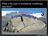Mechanical and Chemical Weathering Quiz Game