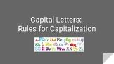 Mechanics:  Capital Letters