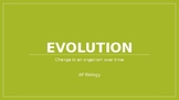 Mechanisms of Evolution: Genetic drift, Mutations, et al.