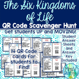 The Six Kingdoms of Life QR Code Scavenger Hunt