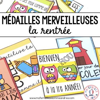 Médailles merveilleuses - La rentrée! (FRENCH Brag Tags)