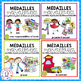 Médailles merveilleuses - THE GROWING BUNDLE (FRENCH Brag Tags Bundle)