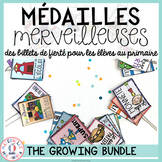 Médailles merveilleuses - THE GROWING BUNDLE (FRENCH Reward Tags Bundle)