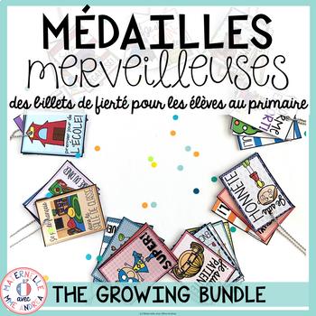 Médailles merveilleuses - THE GROWING BUNDLE (FRENCH Reward Tags Bundle)