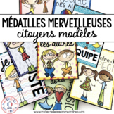 Médailles merveilleuses - citoyens modèles (FRENCH Reward Tags - model citizens)