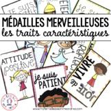 Médailles merveilleuses - les traits caractéristiques (FRENCH Reward Tags)