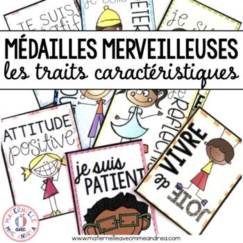 Médailles merveilleuses - les traits caractéristiques (FRE