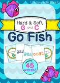 Go Fish Game - Hard and Soft G and C