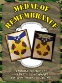 Medal of Remembrance: A Memorial Day Craftivity for Firsti