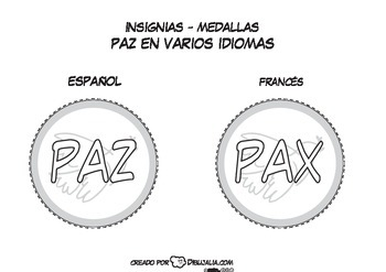 Peace medals and badges
