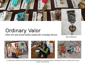 "Medals of ""Ordinary Valor"" TAB Studio Art Project - Information Slideshow"