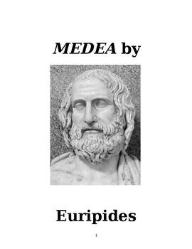 """""""Medea"""" by Euripides (Trans. J.E.Thomas): A Study Guide"""