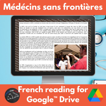 Médécins Sans Frontières - French reading - Google Drive edition