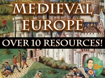 Medieval Europe Middle Ages Bundle Unit