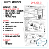 Medeival Struggles - Magna Carta, Crusades, Black Death