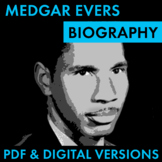 Medgar Evers Biography Research Organizer, Civil Rights Le