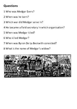 Medgar Evers Handout