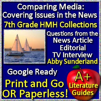 Media Analysis:  Covering Issues in the News Abby Sunderland Teaching Unit