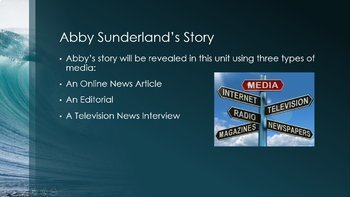 Media Analysis:  Covering Issues in the News Bundle Abby Sunderland HMH HRW